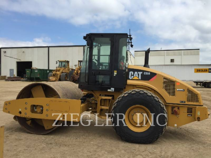 CATERPILLAR WALEC DO GRUNTU, GŁADKI CS56 equipment  photo 4
