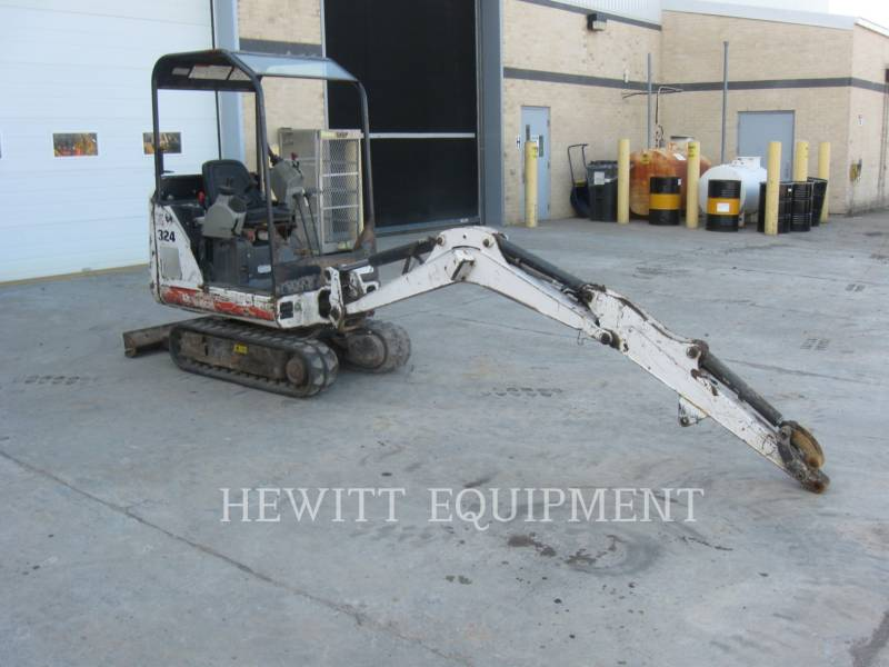 BOBCAT TRACK EXCAVATORS 324 equipment  photo 4