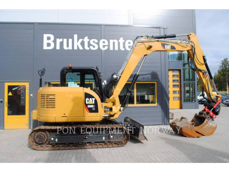 CATERPILLAR KETTEN-HYDRAULIKBAGGER 308E equipment  photo 2