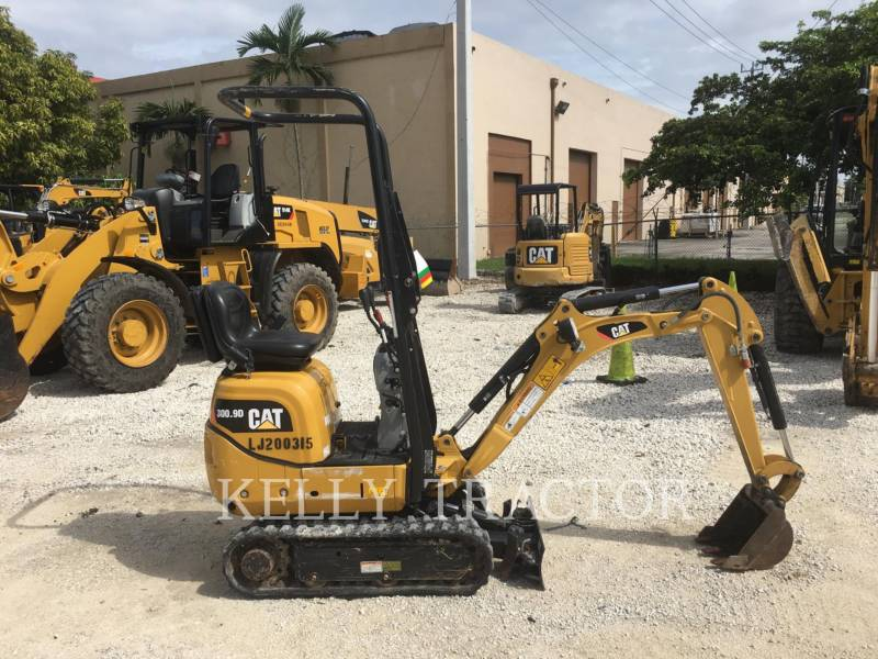 CATERPILLAR ESCAVADEIRAS 300.9D equipment  photo 7