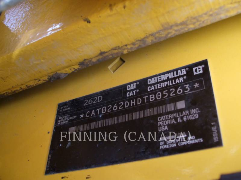 CATERPILLAR KOMPAKTLADER 262D equipment  photo 6
