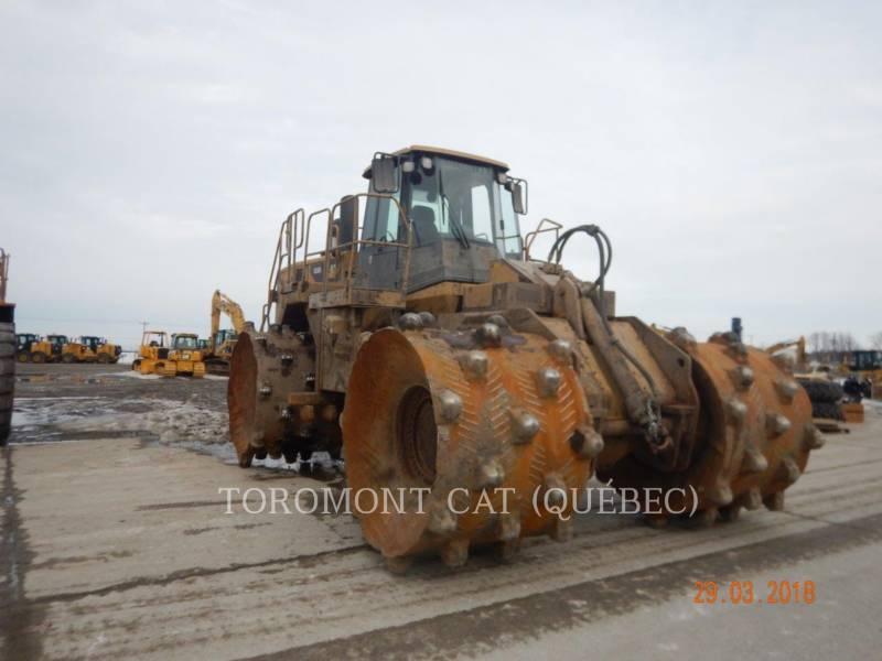 CATERPILLAR TRACTEURS SUR PNEUS 836H equipment  photo 2