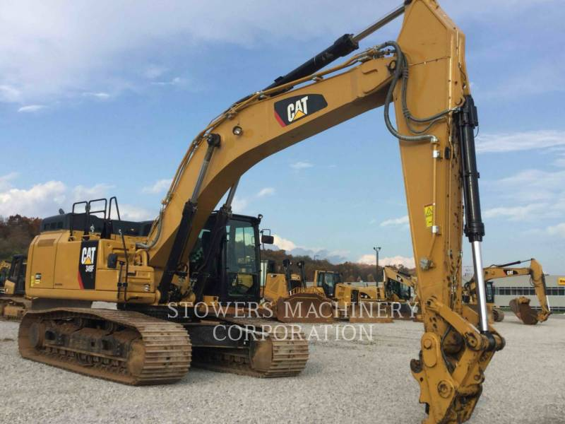 CATERPILLAR KETTEN-HYDRAULIKBAGGER 349F equipment  photo 2