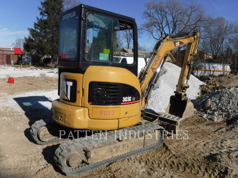 CATERPILLAR KETTEN-HYDRAULIKBAGGER 303CCR AIR equipment  photo 4