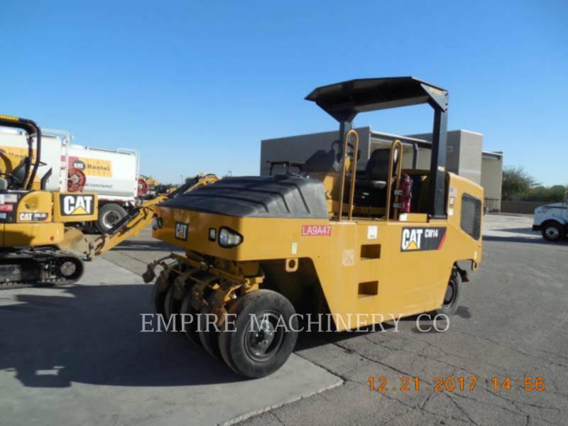 CATERPILLAR GUMMIRADWALZEN CW14 equipment  photo 4