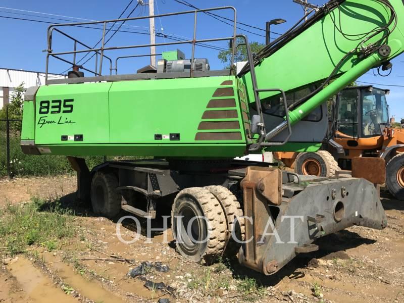 SENNEBOGEN MOBILBAGGER 835 equipment  photo 6