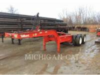 Equipment photo TALBERT 75 TON TRAILERS 1