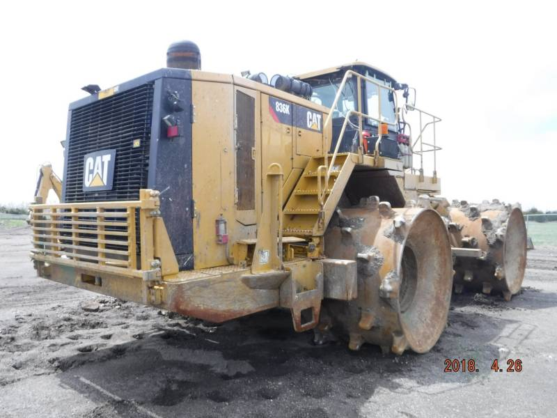 CATERPILLAR COMPATTATORI 836K equipment  photo 3