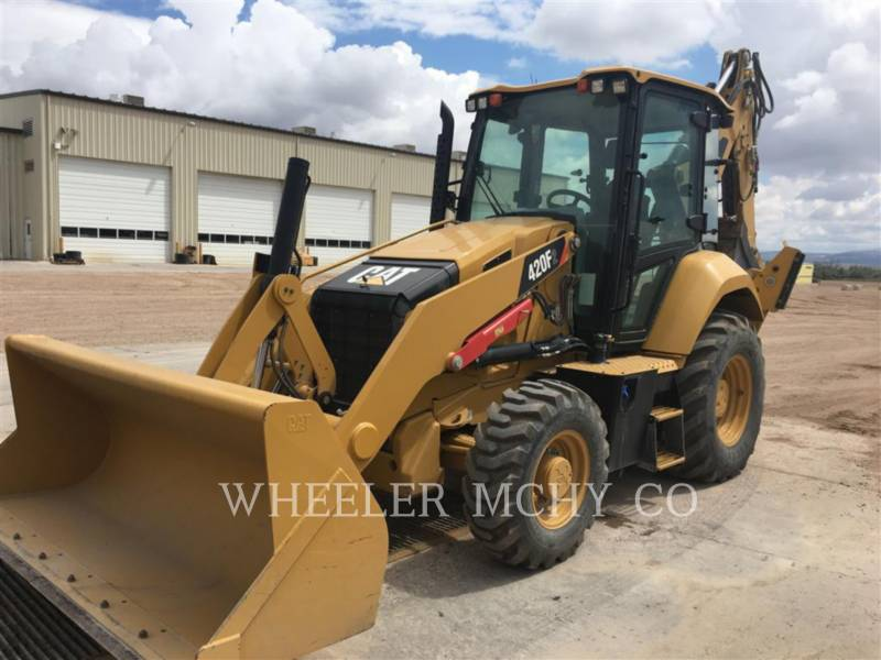 CATERPILLAR BACKHOE LOADERS 420F2 E CF equipment  photo 1