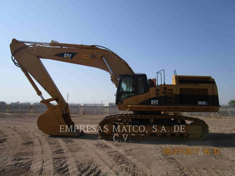 CATERPILLAR EXCAVADORAS DE CADENAS 365CL equipment  photo 2