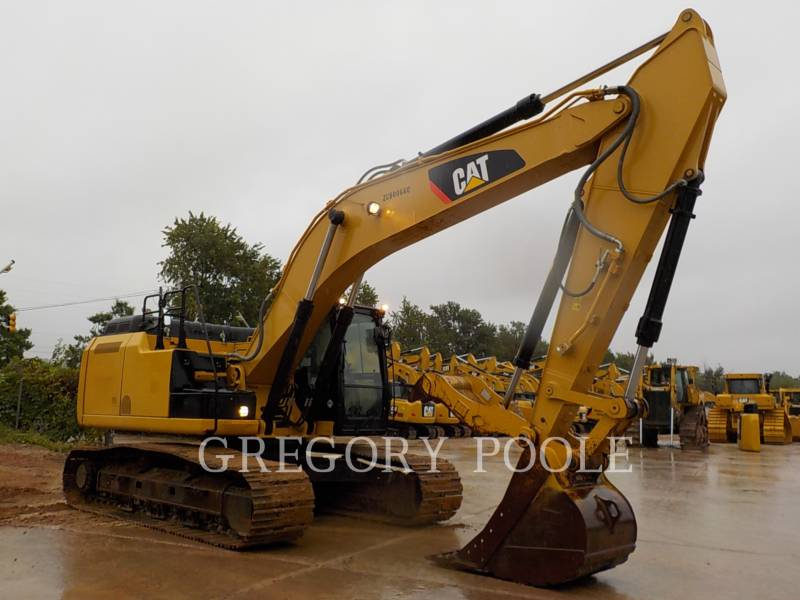 CATERPILLAR KETTEN-HYDRAULIKBAGGER 329E L equipment  photo 4