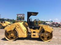 CATERPILLAR TRILLENDE DUBBELE TROMMELASFALTEERMACHINE CB64 equipment  photo 8