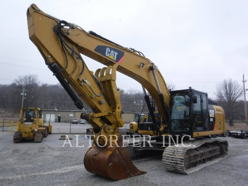 CATERPILLAR PELLES SUR CHAINES 329EL TH equipment  photo 1