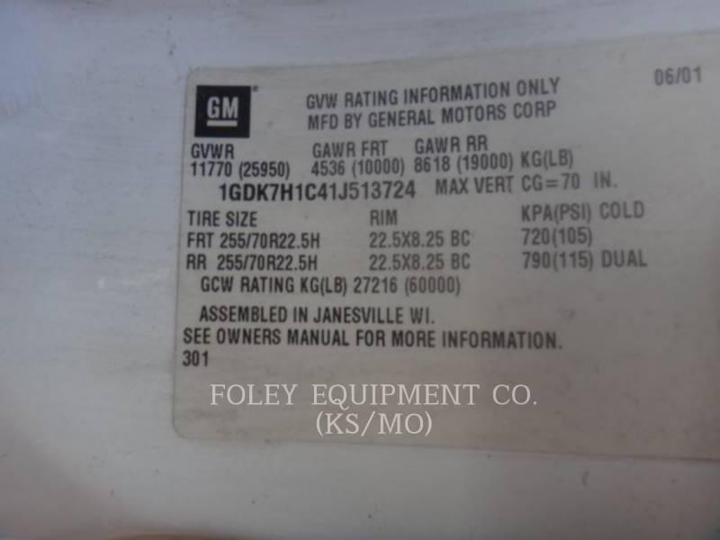 GMC ON HIGHWAY TRUCKS C6500 equipment  photo 3
