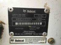 BOBCAT CARGADORES DE CADENAS T740 equipment  photo 7