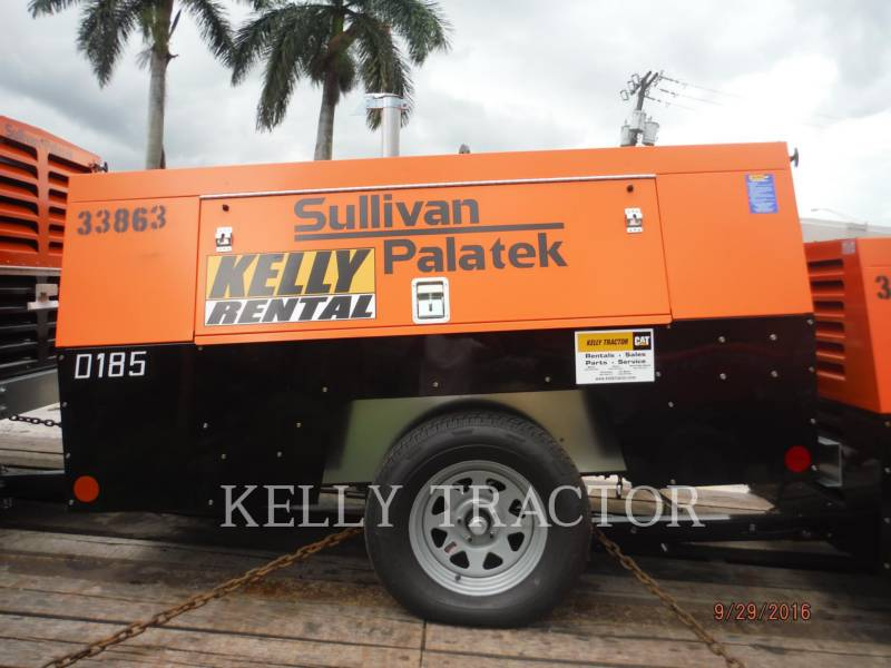 SULLIVAN COMPRESOR DE AIRE D185P PK equipment  photo 1