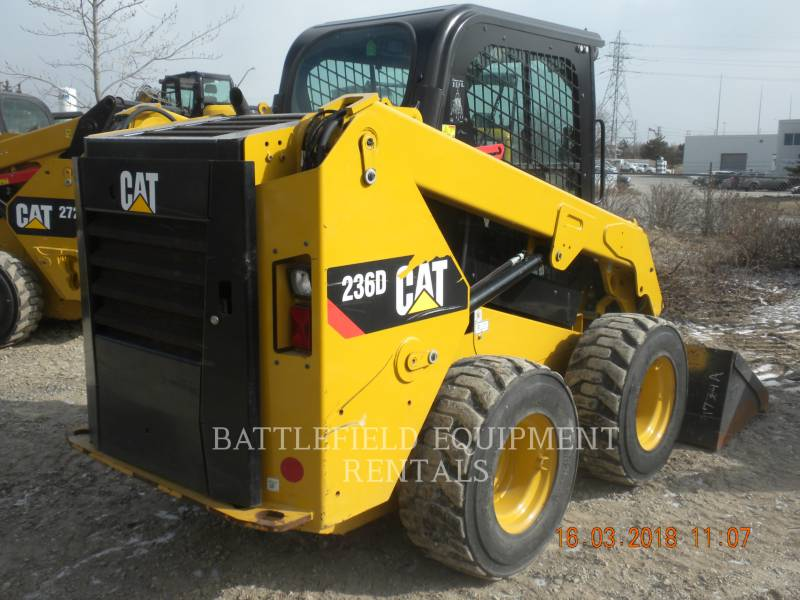 CATERPILLAR SCHRANKLADERS 236D equipment  photo 4