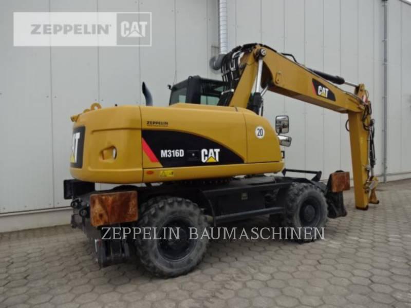 CATERPILLAR WHEEL EXCAVATORS M316D equipment  photo 4