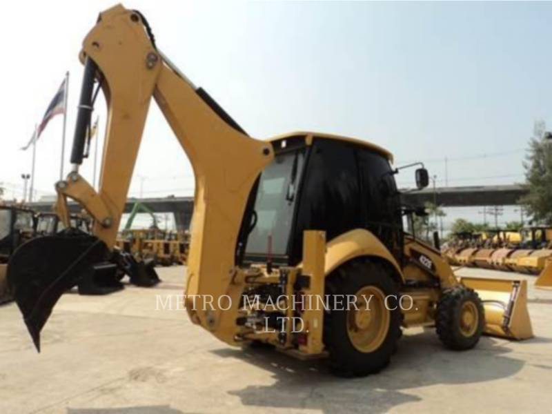CATERPILLAR BACKHOE LOADERS 424D equipment  photo 5