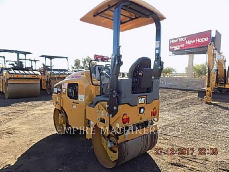 CATERPILLAR TANDEMOWY WALEC WIBRACYJNY DO ASFALTU (STAL-STAL) CB22B equipment  photo 3