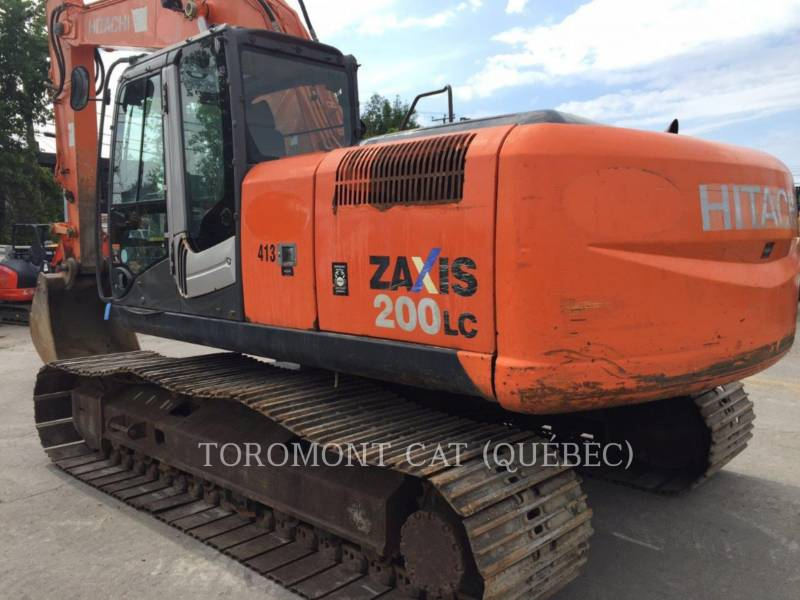 HITACHI PELLES SUR CHAINES ZX200LC3 equipment  photo 1