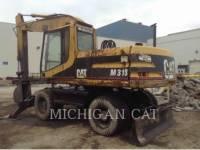 CATERPILLAR WHEEL EXCAVATORS M318 equipment  photo 3