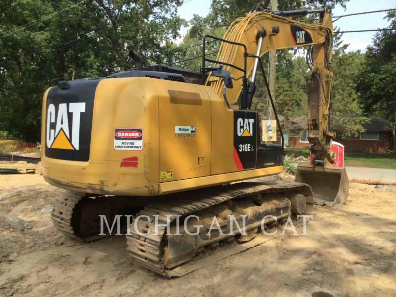 CATERPILLAR TRACK EXCAVATORS 316EL PTQ+ equipment  photo 3