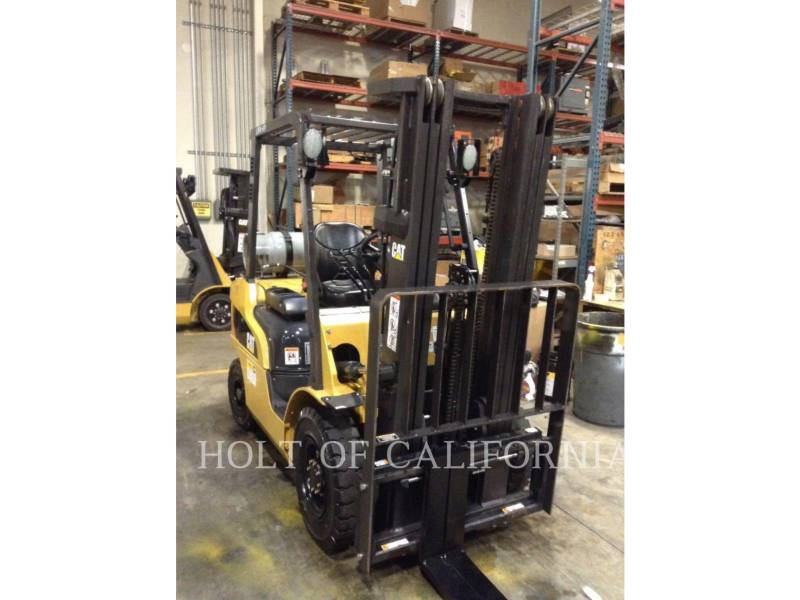 CATERPILLAR MITSUBISHI MONTACARGAS 2P5000-LE equipment  photo 2