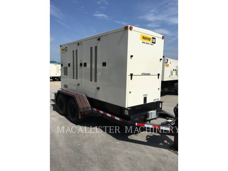 PERKINS PORTABLE GENERATOR SETS APS150 equipment  photo 11