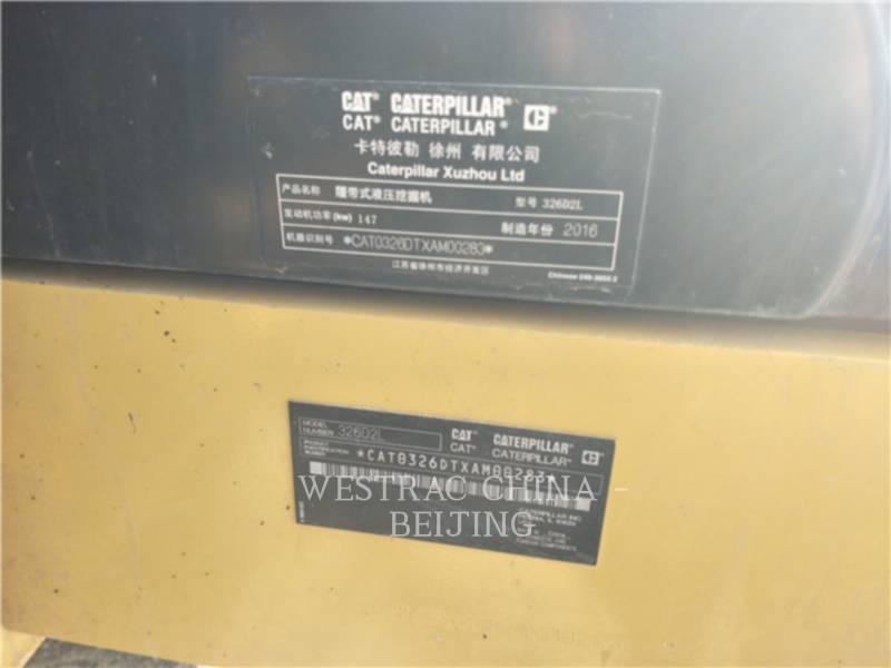 CATERPILLAR ESCAVATORI CINGOLATI 326D2L equipment  photo 1