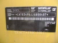 CATERPILLAR TRACK EXCAVATORS 349DL equipment  photo 4