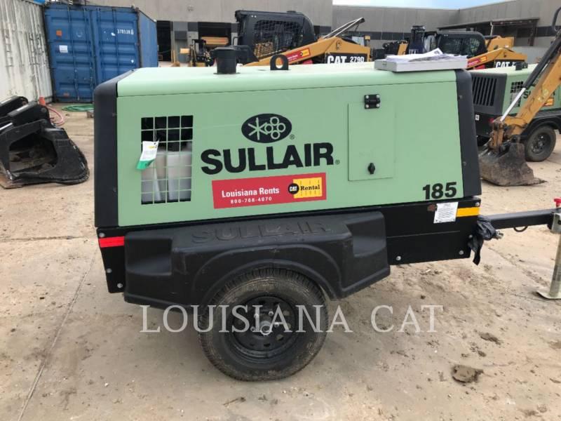 SULLAIR LUCHTCOMPRESSOR 185COMPWHL equipment  photo 6