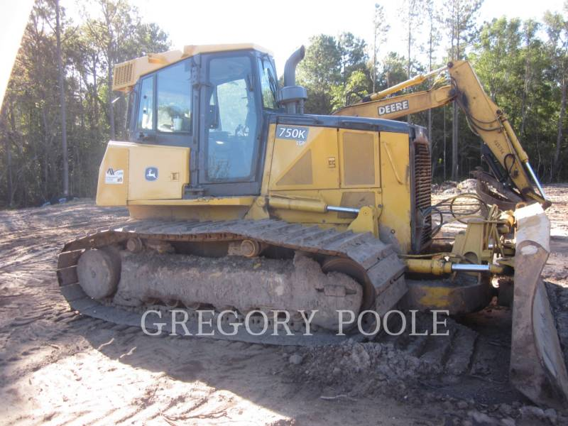 DEERE & CO. TRACTEURS SUR CHAINES 750K LGP equipment  photo 2