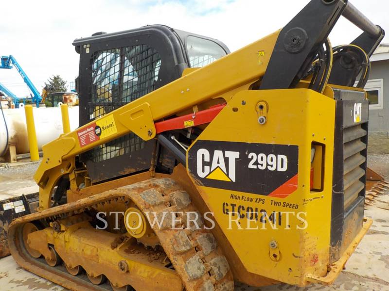 CATERPILLAR CARGADORES MULTITERRENO 299D CAB equipment  photo 3