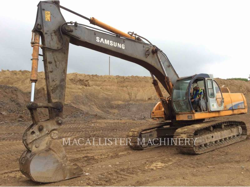 SAMSUNG TRACK EXCAVATORS 350 equipment  photo 1