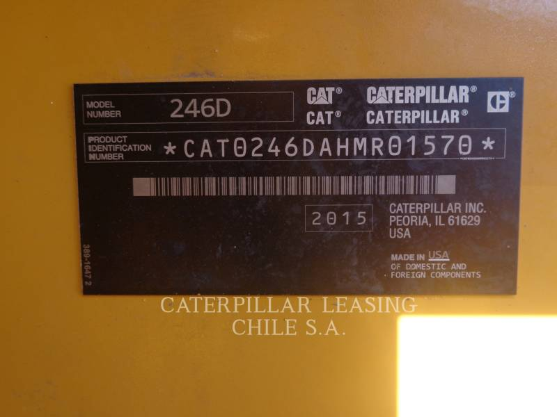 CATERPILLAR CHARGEURS COMPACTS RIGIDES 246 D equipment  photo 12