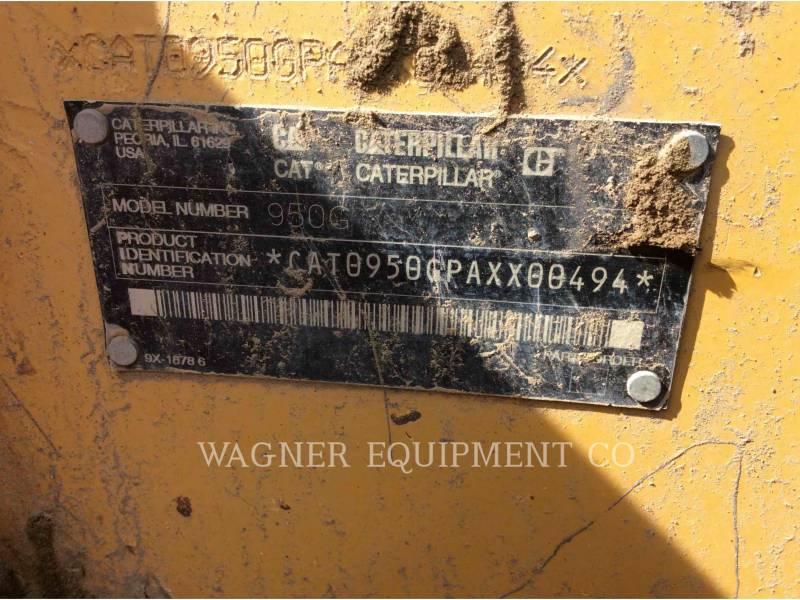 CATERPILLAR PALE GOMMATE/PALE GOMMATE MULTIUSO 950G II equipment  photo 5