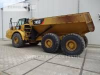 CATERPILLAR KNICKGELENKTE MULDENKIPPER 745C equipment  photo 3