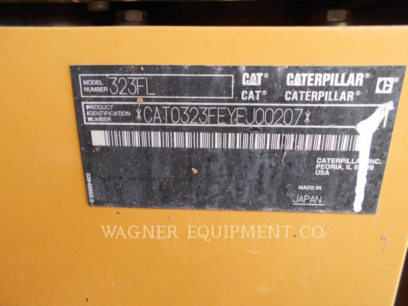 CATERPILLAR KETTEN-HYDRAULIKBAGGER 323FL TC equipment  photo 5