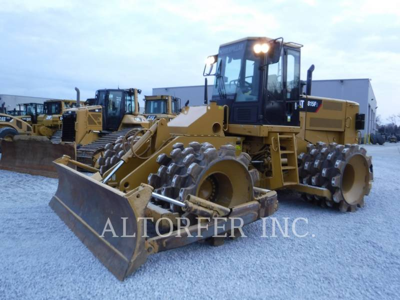 CATERPILLAR TRACTEURS SUR PNEUS 815F2 equipment  photo 1
