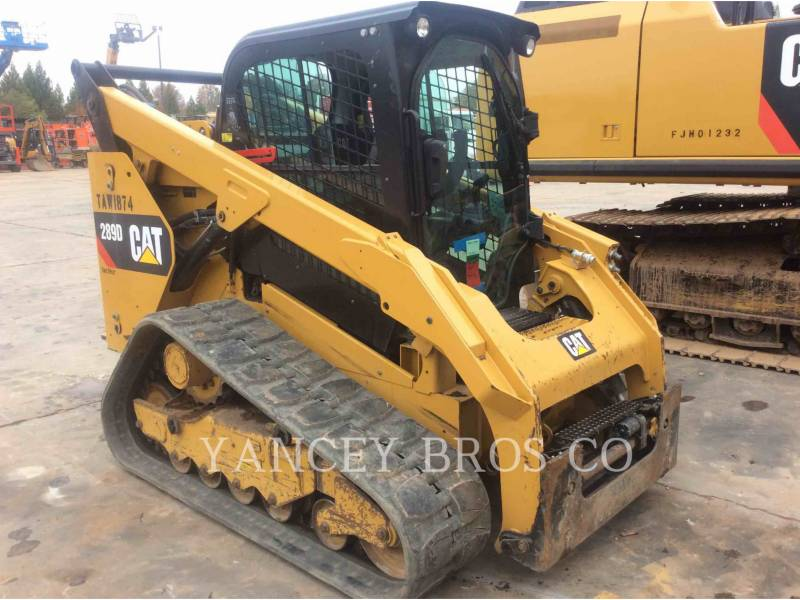 CATERPILLAR CHARGEURS COMPACTS RIGIDES 289D AC equipment  photo 4