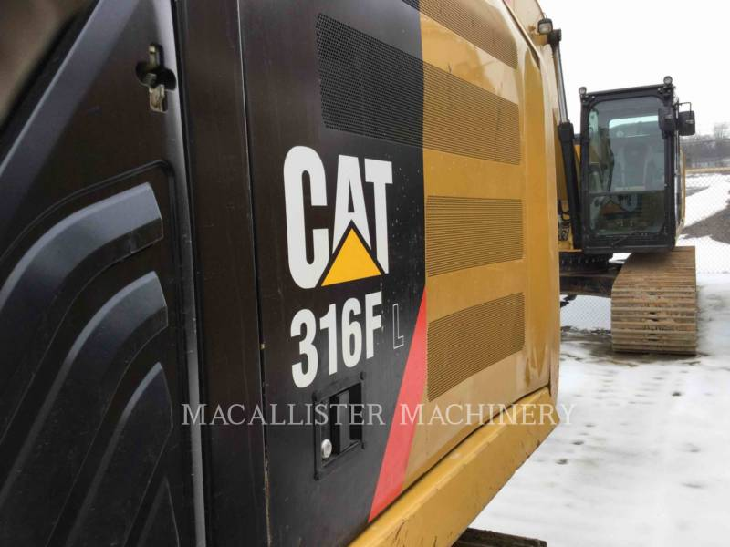 CATERPILLAR KETTEN-HYDRAULIKBAGGER 316FL equipment  photo 7