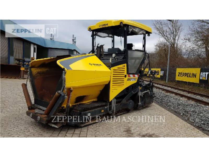 BOMAG ASPHALT PAVERS BF300C equipment  photo 2