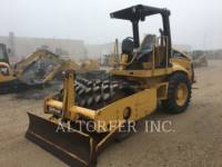 CATERPILLAR VIBRATORY SINGLE DRUM SMOOTH CP433E equipment  photo 1