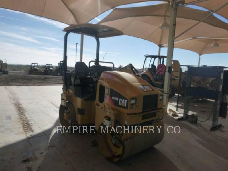 CATERPILLAR TANDEMOWY WALEC WIBRACYJNY DO ASFALTU (STAL-STAL) CB24B equipment  photo 1