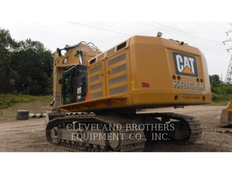 CATERPILLAR KETTEN-HYDRAULIKBAGGER 374FL equipment  photo 3