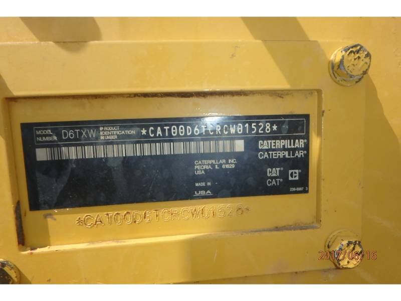 CATERPILLAR TRACK TYPE TRACTORS D6TXWVP equipment  photo 18