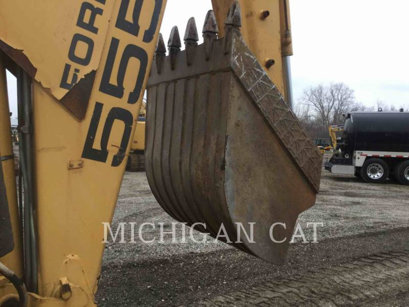FORD / NEW HOLLAND BACKHOE LOADERS 555E equipment  photo 18