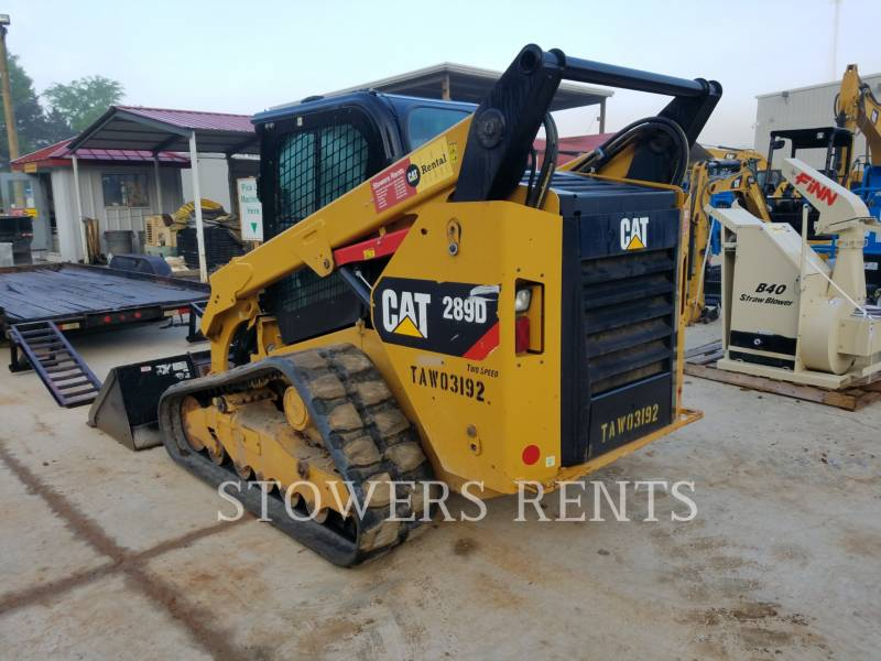 CATERPILLAR DELTALADER 289D CAB equipment  photo 3