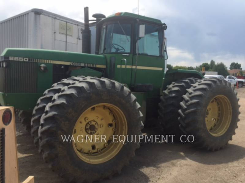 JOHN DEERE AG TRACTORS 8650 equipment  photo 3
